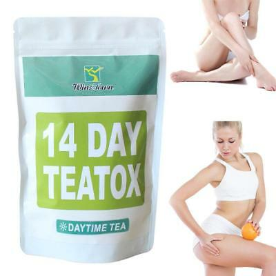 Strawberry Lime Slimming 14 Day Teatox Weight Loss Diet Burn Fat