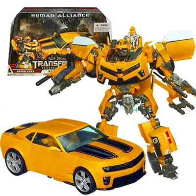 Transformers Model Bumblebee Action Figures Robot Cars Autobot Reissue Toys Gift
