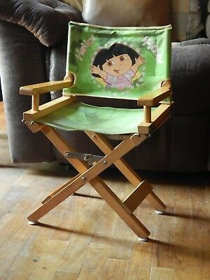 "Dora the Explorer ""Hello! Hola!"" Director's Chair Seat ~ Nickelodeon_Nick Jr ~"