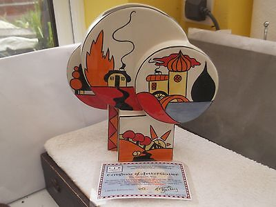 Very Large Lorna Bailey Limited Edition Vase  The Geometric Vase  With Cert