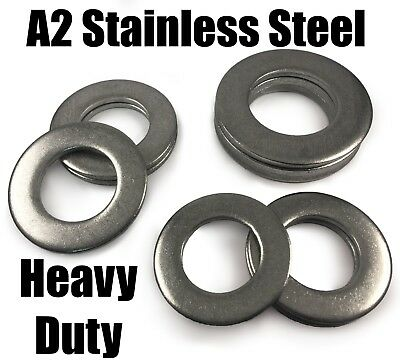 A2 Stainless Steel Form A Large Heavy Duty Washers For Bolts M27 M30 M33 M36 M39