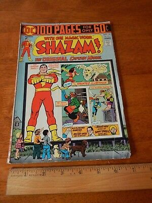 Shazam! #13 (Jul-Aug 1974) 100 Page Super Spectacular DC COMICS Retro Superhero