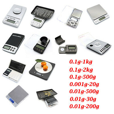 Pocket Digital Scales Jewellery Gold Weighing Mini LCD Electronic Mini Scale UK