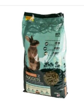 Pets At home 10kg Adult Rabbit Nuggets Food