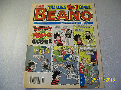 THE BEANO COMIC No. 2730 NOVEMBER 12TH 1994 D.C.THOMSON & CO