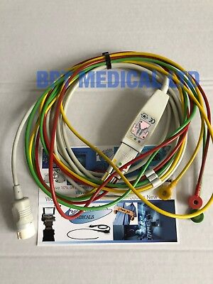 Philips ECG cable Patient Cable 3-lead Philips MRX Agilent XL Hearstream M3528A