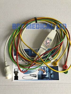 Philips M3528A ECG cable Patient Cable 3-lead For Philips MRx