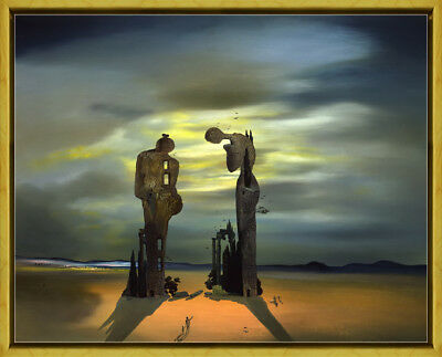Framed Salvador Dali Virtual Reality Giclee Canvas Print Paintings Poster