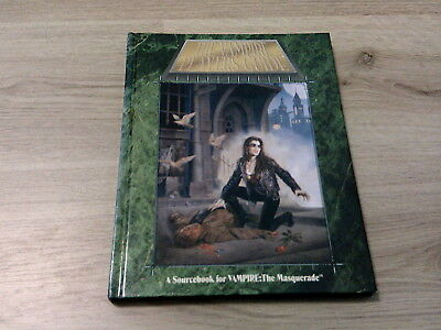 Vampire The Masquerade The Vampire Players Guide 2nd Edition Hardcover WW2206 EX
