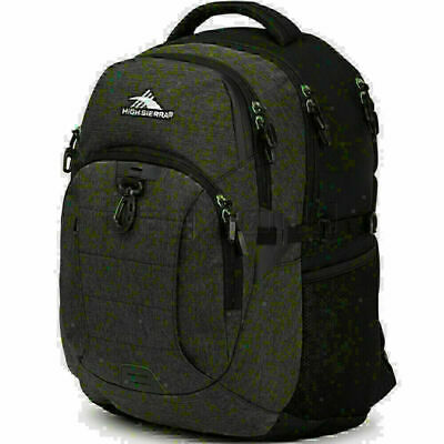 "High Sierra Jarvis 16.4"" Laptop & Tablet Backpack Black 05182"