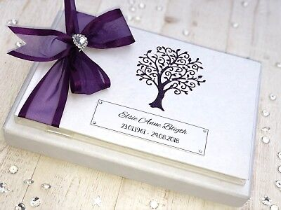 Personalised Funeral Book of Condolence Memory Book Bereavement 24 hr dispatch