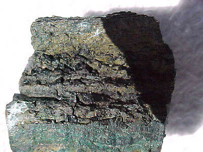 RARE  Malachite Djurleite COPPER PETRIFIED WOOD UNUSUAL Triassic GEOLOGY