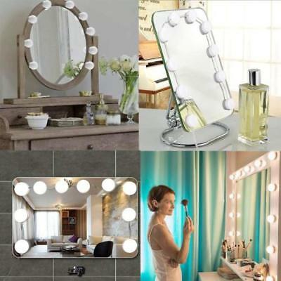 2018 Vanity LED Mirror Light Kit For Makeup Hollywood Mirror Dimmable Light Bulb