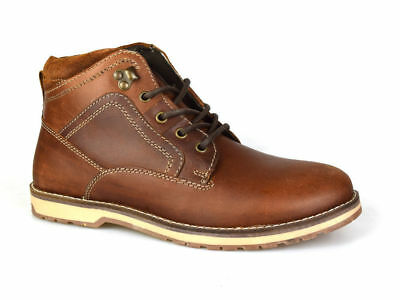 Red Tape Reelan Tan Mens Leather Ankle Boots Sale