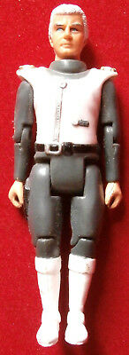 CAPTAIN SCARLET - COLONEL WHITE - 4 inches - 1993 - POSEABLE