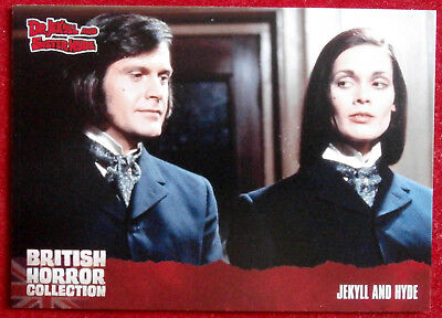 BRITISH HORROR COLLECTION - Dr Jekyll & Sister Hyde - JEKYLL AND HYDE - Card #42