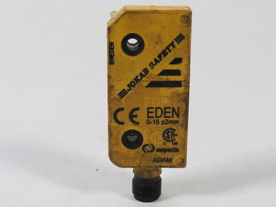 Jokab Safety EDEN ADAM Safety Switch 0-15mm  USED