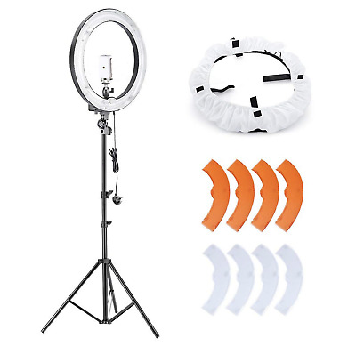 Neewer Camera Photo Video Lighting Kit:18 Inches 75W, Vlog Youtube Vlogger NEW