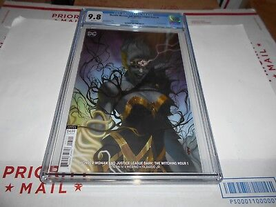 Wonder Woman & Justice League Dark: Witching Hour #1 Cgc 9.8 (Variant Cover)