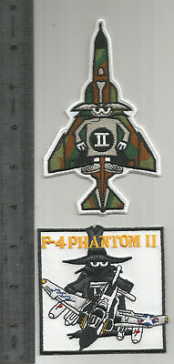 Set of Two (2) F-4 Phantom Patches