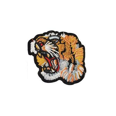 Wild Tiger (Iron on) Embroidery Applique Patch Sew Iron Badge