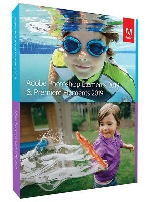 Adobe Photoshop Elements 2019 & Premiere Elements 2019 NEU & OVP