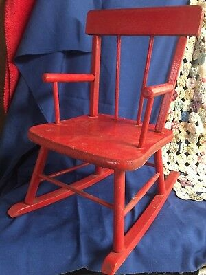 Prime Childs Red Rocking Chair Life Foundation Ncnpc Chair Design For Home Ncnpcorg