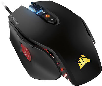 CORSAIR - M65 PRO Wired RGB Optical Gaming Mouse - Black