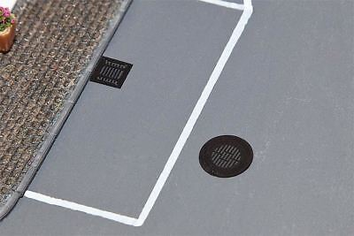 Faller Ho Scale 1:87 Manhole & Sewer Covers | Bn | 180610
