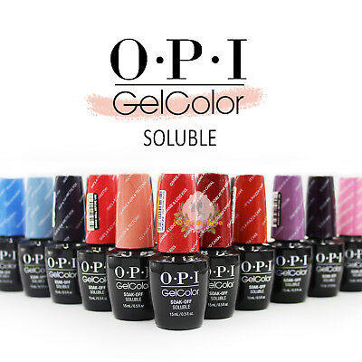 OPI Gel Color Soak Off Soluble Nail Polish *Pick A Shade*