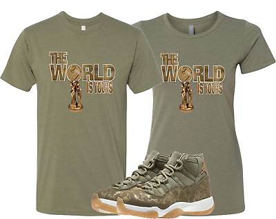 7ead80972ac8e3 WE WILL FIT shirt to match JORDAN 11 RETRO NEUTRAL OLIVE LUX green ...