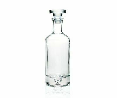 Clear Glass Decanter Carafe for Whiskey, Cognac, Liquor or Wine  0.7 L