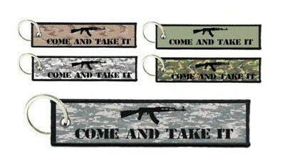 Keychain remove motorcycle home come and take it flight tag usa airsoft moral