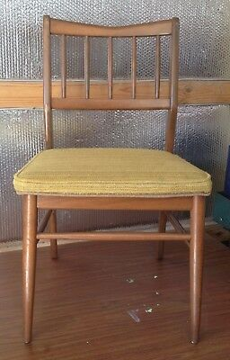 Vintage Birchcraft Desk Chair All Original Furniture