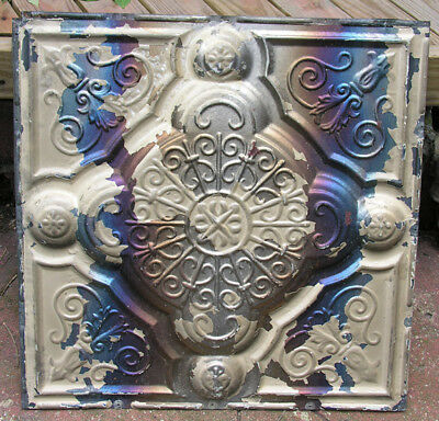 STUNNING ORIGINAL CEILING TIN - 24 x 24 - EXCELLENT STOCK