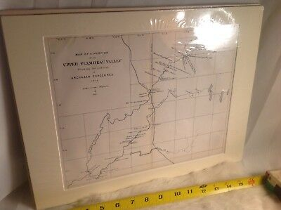 Wisconsin Geological Survey Topography  Upper Flambeau Valley Archean expos rare