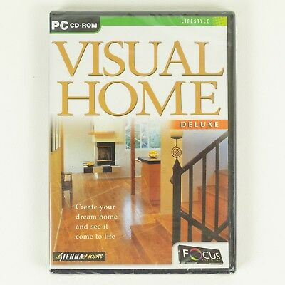 New Visual Home Deluxe Home Designer Software For Pc