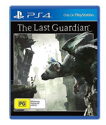 The Last Guardian PS4 Playstation 4 Game Brand New In Sealed AU STOCK!!!