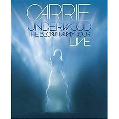 Carrie Underwood Blown Away Tour Live DVD ALL Regions NTSC NEW
