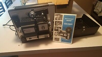 Vintage Bell & Howell 8mm Super 8 Autoload Model 456 Silent Movie Projector