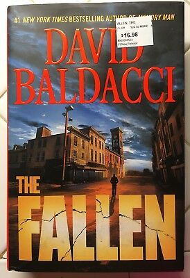Memory Man: The Fallen 4 by David Baldacci (2018, Hardcover) - read once