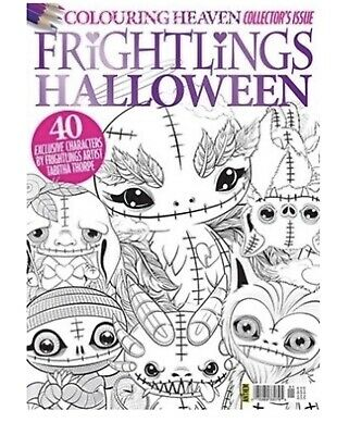 COLOURING HEAVEN Special Collector's Issue: FRIGHTLINGS HALLOWEEN - New