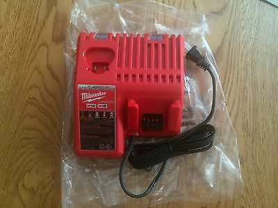 Brand New Never Used Milwaukee M12 & M18 Multi-Voltage Charger Model 48-59-1812