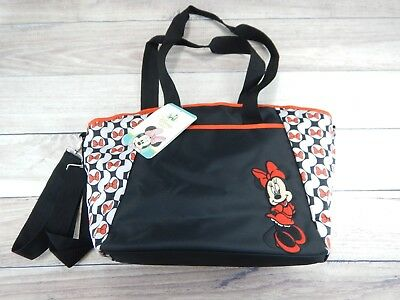 Disney Baby Minnie Mouse 5 in 1 Diaper Bag Tote Set