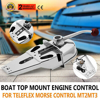 Marine Boat Engine Control Built-In Friction Sameday Shipping Smooth Shifting