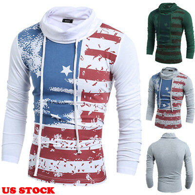 Mens Thermal  Turtle Neck Skivvy Turtleneck Sweaters Stretch Shirt Tops