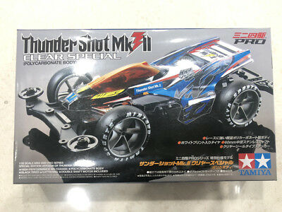 Tamiya 95463 Mini4WD Thunder Shot MKII CLEAR SPECIAL MS chassis