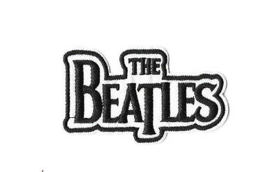 THE BEATLES Iron on / Sew on Patch Embroidered Badge Music Band English PT397