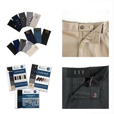 Comfy Pants Bundle - 13 Waist Extenders (3 Types) For Dress Pants, Khakis And
