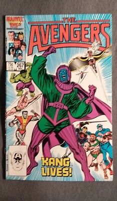 Marvel Comics Avengers #267 (1986) FN-VF cond Free Bag/Board!